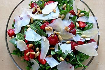 Рецепты салатов из рукколы